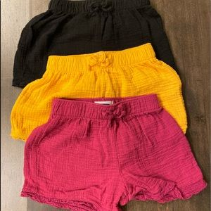 Girls old navy pull on shorts